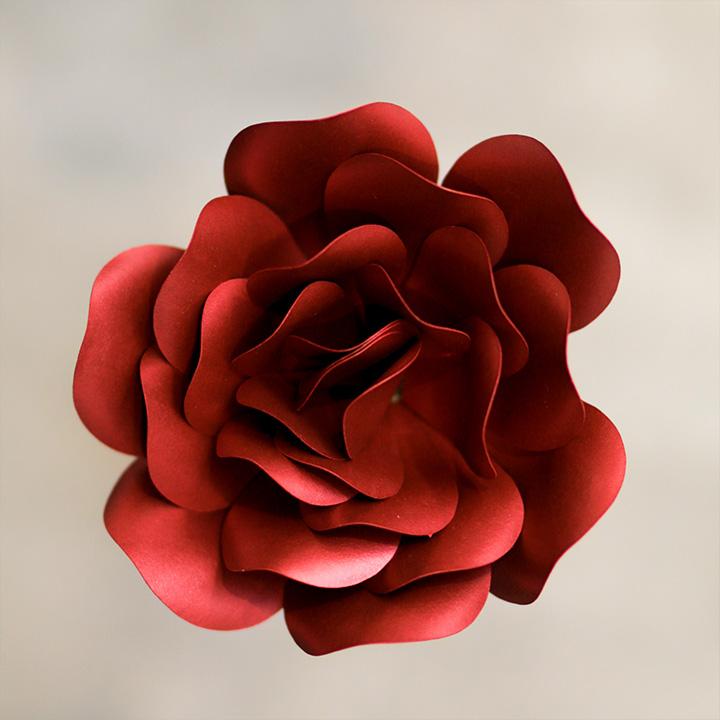 Rose Pearlized Garnet