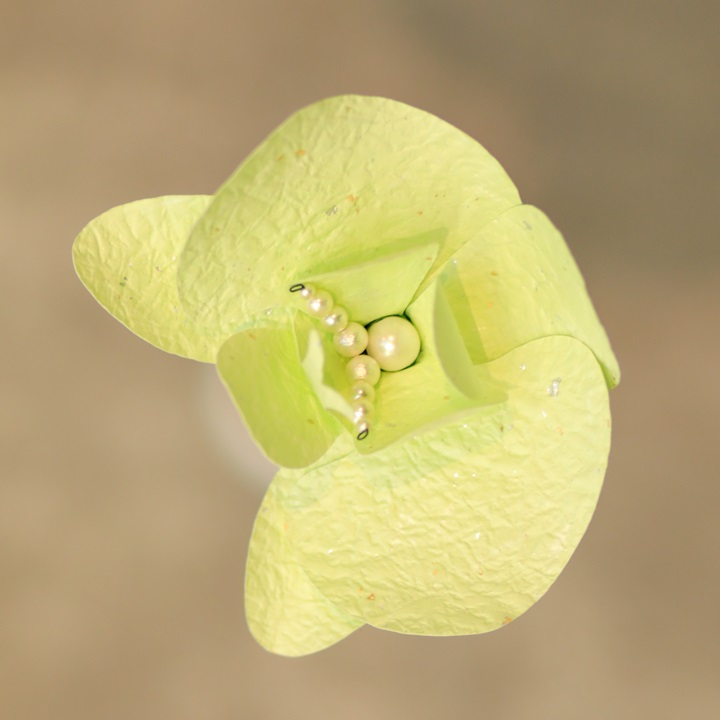 Washi Pastel Green Orchid